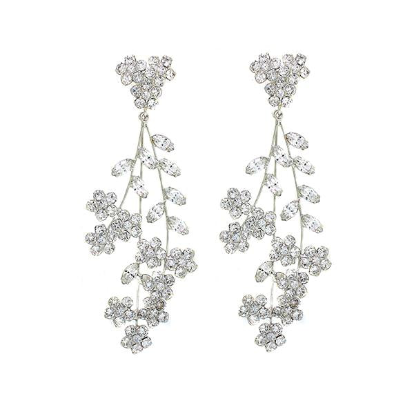 Shop Violet chandelier  earrings | Jennifer Behr | Fashion Accessories | Earrings