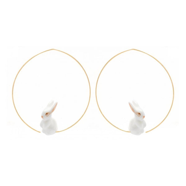 Mini Bunny Earrings |Nach Bijoux |Fashion Accessories