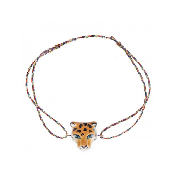 Leopard Multicolor Charms Bracelet |Nach Bijoux |Fashion Accessories