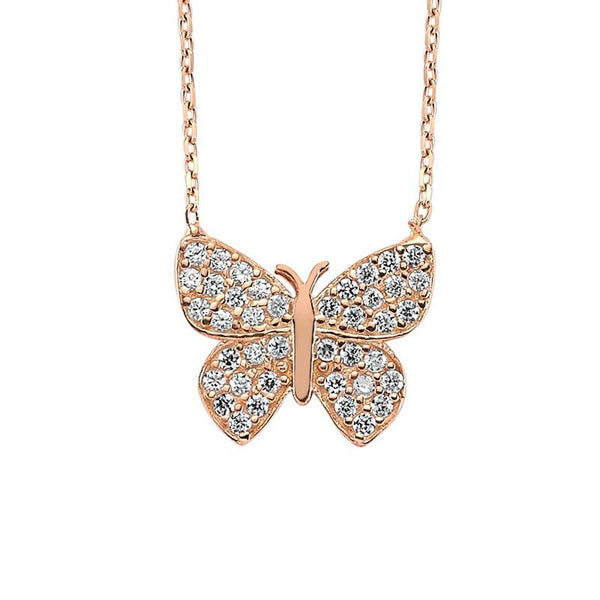 Shop Online Butterfly Necklace | Amorium | Fashion Accessories