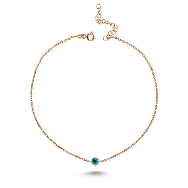 Shop Online Delicate Evil Eye Anklet | Amorium | Fashion Accessories