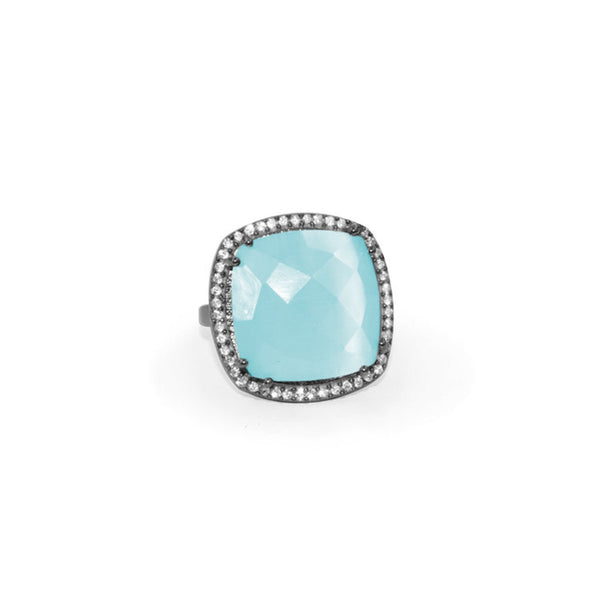Aqua Ring | Susan Hanover | Fashion Accessories