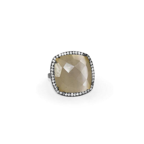 Grey Onyx Ring | Susan Hanover | Fashion Accessories