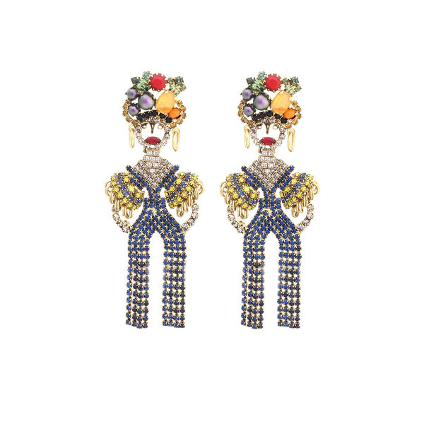 Chiquitta Banana Earrings |Elizabeth Cole | Fashion Accessories |Earrings