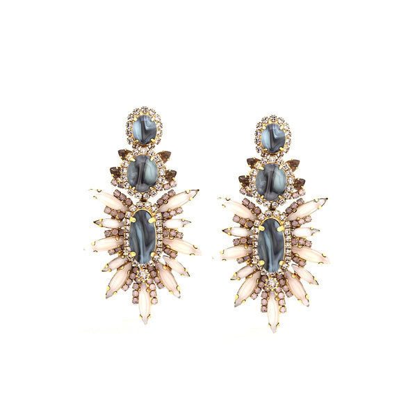 Carmella Marquis Earrings |Elizabeth Cole | Fashion Accessories |Earrings