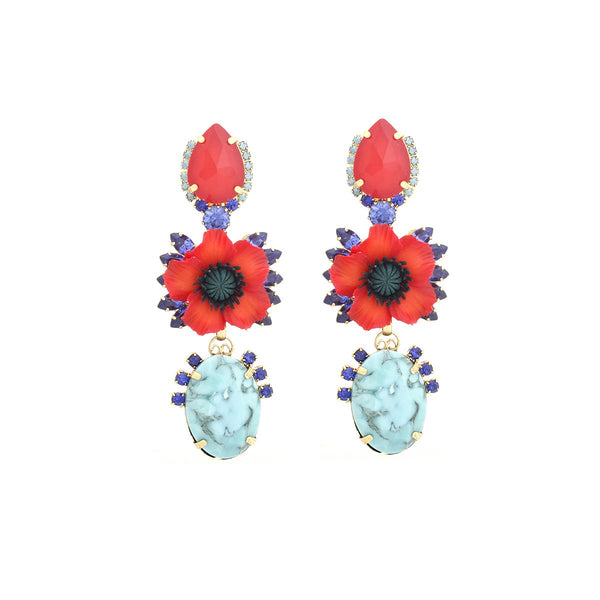 Zulla Earrings |Elizabeth Cole | Fashion Accessories |Earrings