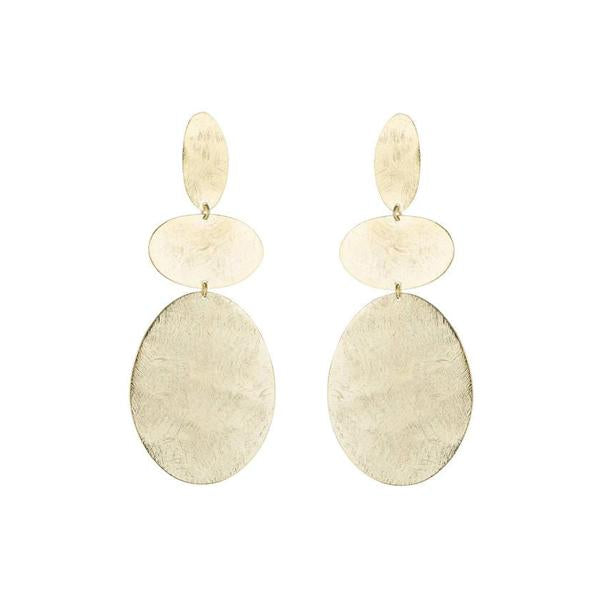 Oval shape post earrings | Marcia Moran | Fashion  Accessories Earrings