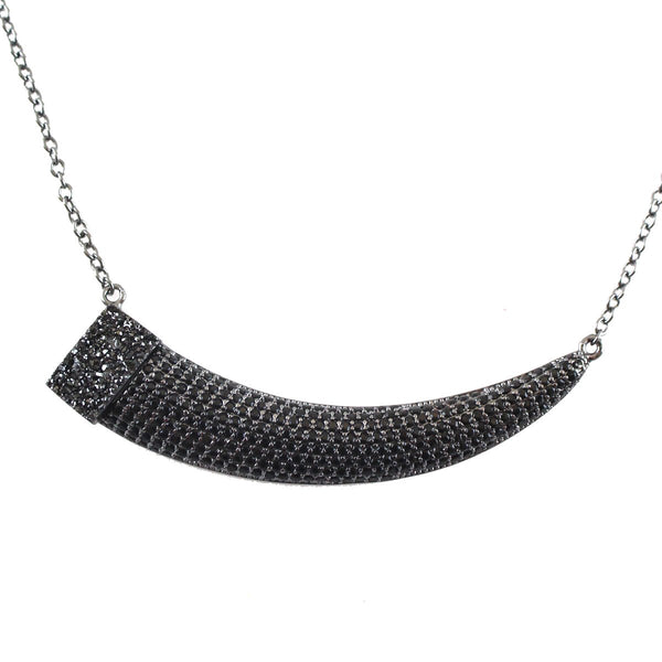 Horizontal horn necklace | Marcia Moran | Fashion Accessories Necklace