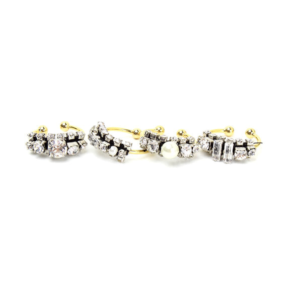 Set Of Four Rings | Rada |Fashion Accessories|Rings