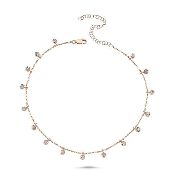 Carina Dangling Choker | Amorium | Fashion Accessories | Necklaces