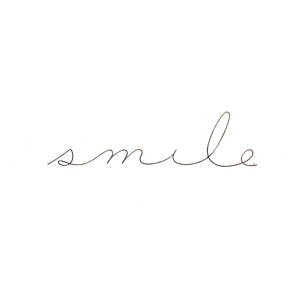 Smile Poetics Medium | Gauge | Wall Decor | Home Accessories