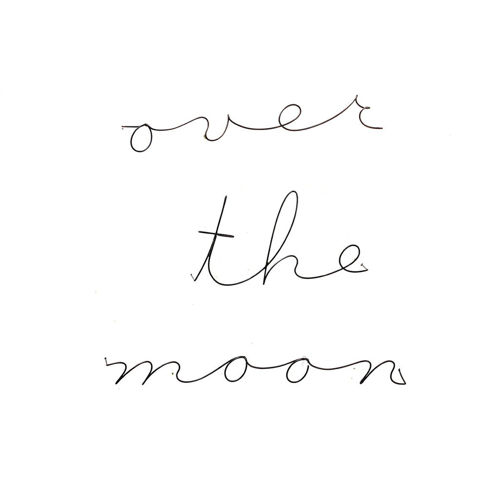 Over The Moon Poetics | Gauge | Wall Decor | Home Accessories