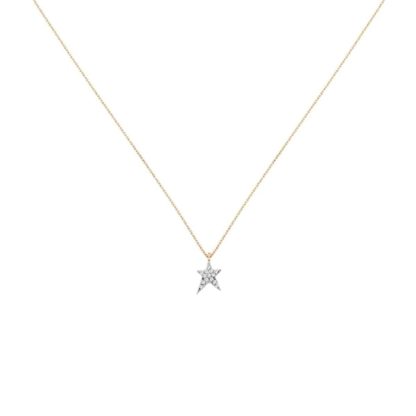 14K Rose Gold Struck Necklace | Kismet By Milka Consignment | Fine Jewelry | Earring