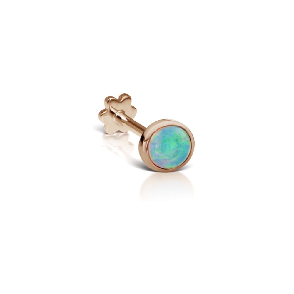 Opal Threaded Stud Earrings | Maria Tash | Fine Jewelry | Earring