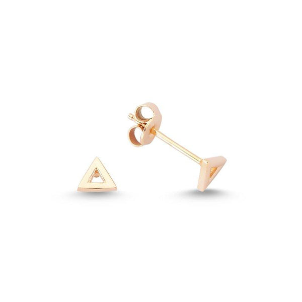 Triangle Stud Earrings | Amorium | Fashion Accessories | Earring