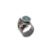 Snail With Green Stone Ring | B & M | Fashion Accessories | Rings