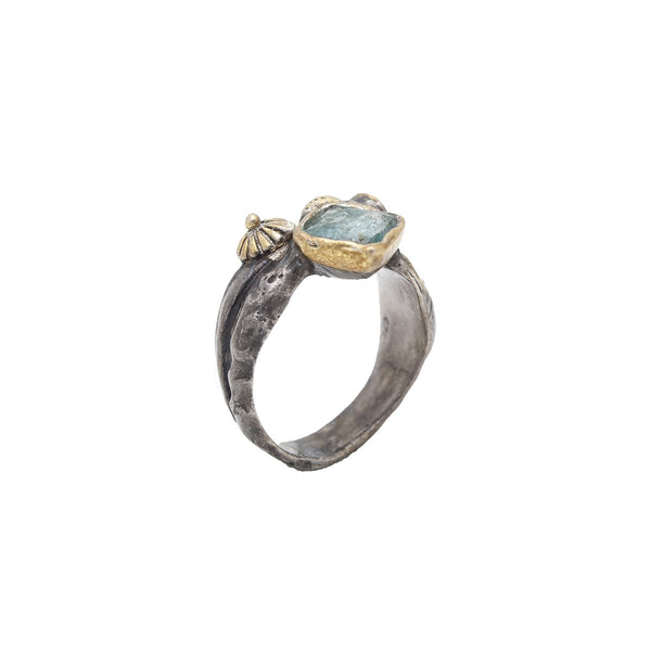 Turquiose And Zircon Ring | B & M | Fashion Accessories | Rings