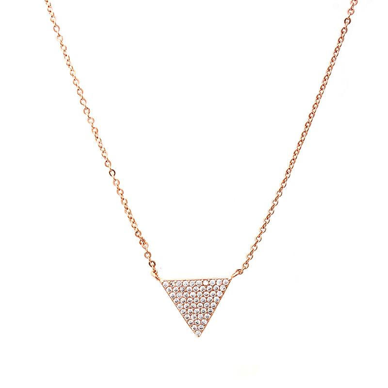 Triangle Necklace | B & M | Fashion Accessories | Necklace