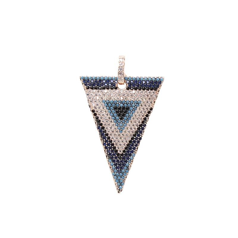 Colored Triangle Pendant | OMG | Fashion Accessories | Pendant
