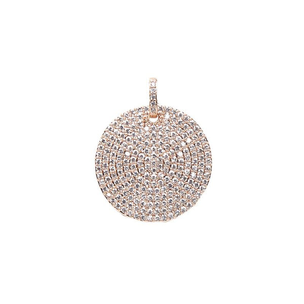 Rose Gold Circle Pendant | OMG | Fashion Accessories | Pendant