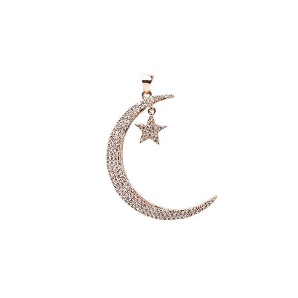 Rose Gold Small Star Pendant | OMG | Fashion Accessories | Pendant