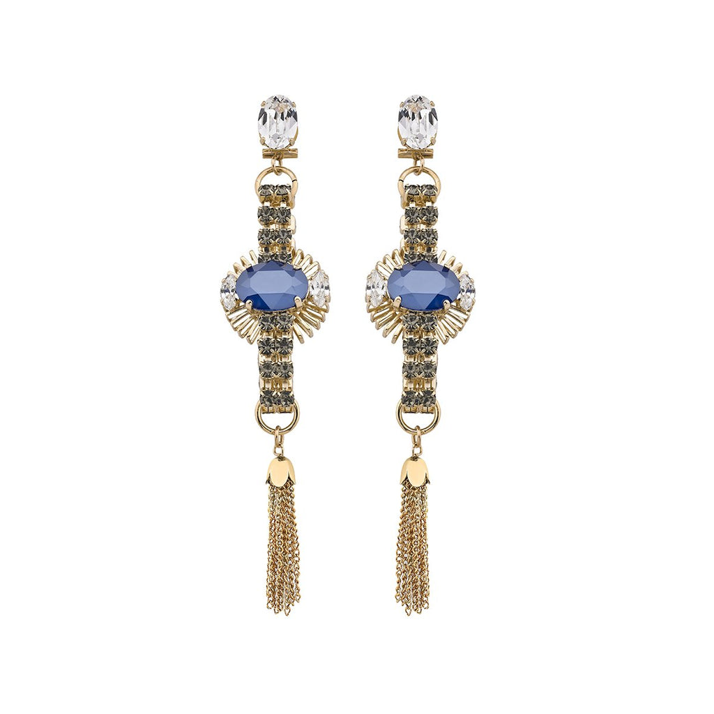 Czech Glass Crystal Earring | Anton Heunis |Fashion Accessories |Earrings