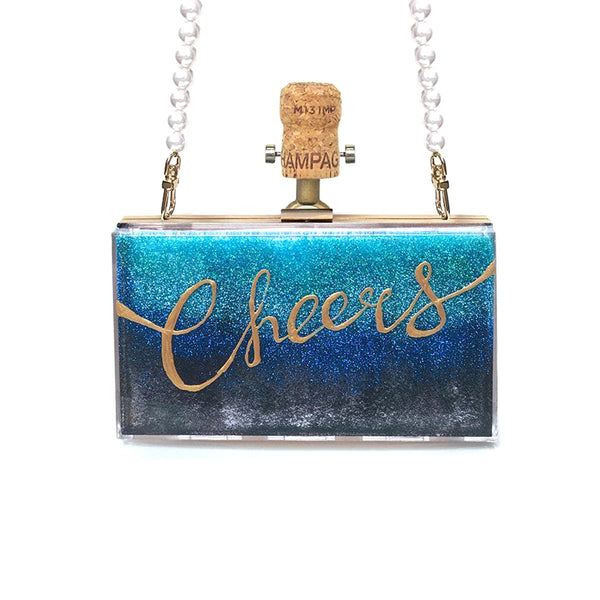 Cheers Clutch Bag | Cecilia Ma | Fashion Accessories | Clutch Bag