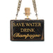 Save Water Clutch Bag | Cecilia Ma | Fashion Accessories | Clutch Bag