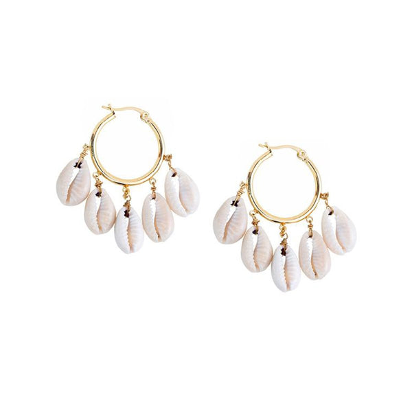 Caroline Hoops Earrings | Shashi | Fashion Accessories | Earrings