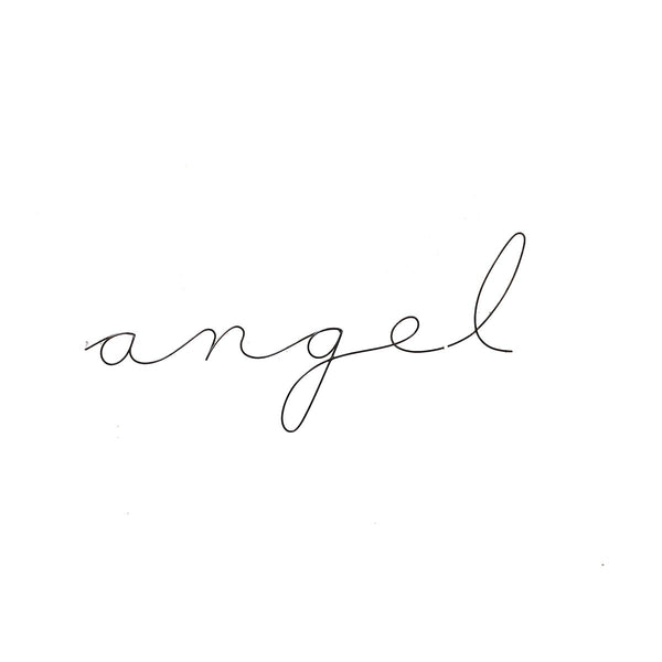 Angel Poetics Long | Gauge | Wall Decor | Home Accessories