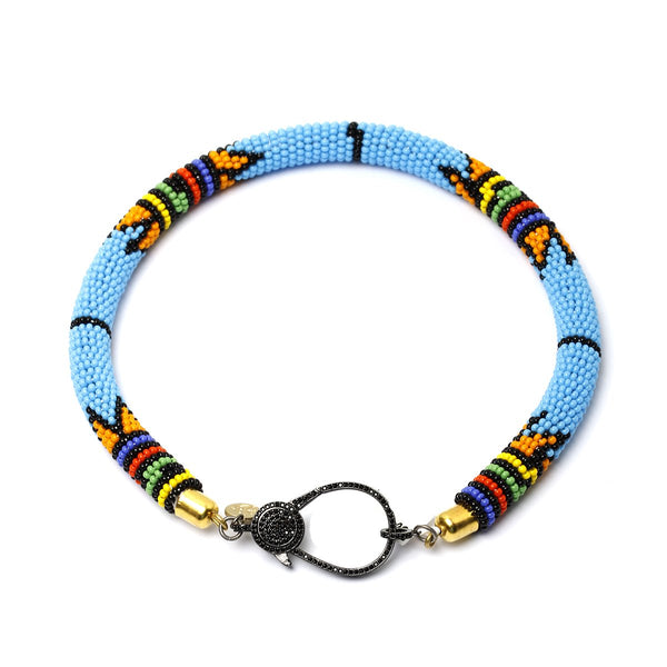 Kenya turquoise choker | Karli Buxton |Fashion Accessories | Necklaces