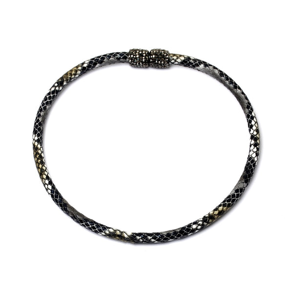 Indio grey snake choker | Karli Buxton |Fashion Accessories | Necklaces