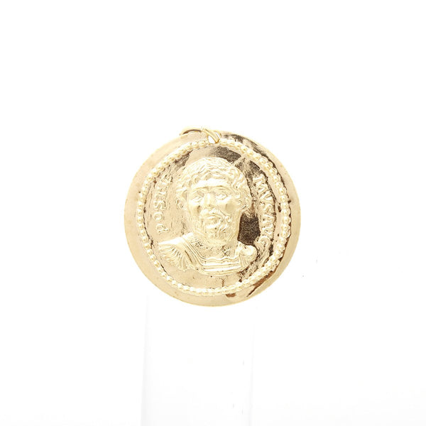 Large Gold Coin Pendant | Hypso | Fashion Accessories | Pendant