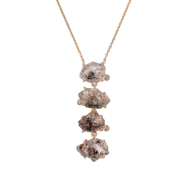 Pink Tourmaline Necklace | Atelier Mon | Fashion Accessories | Necklace