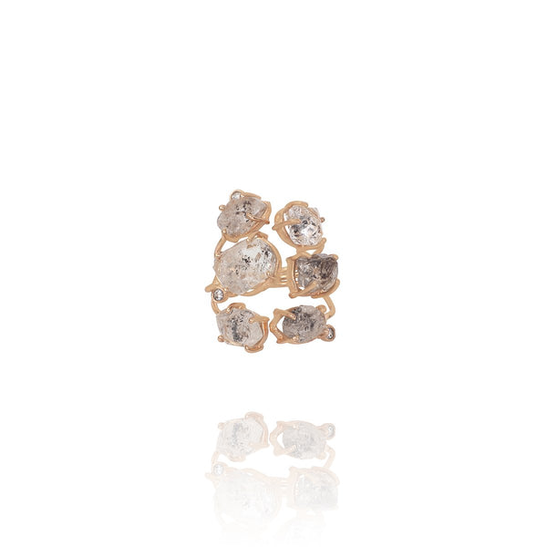 Moonstone And Pearl Ring | Atelier Mon | Fashion Accessories | Ring
