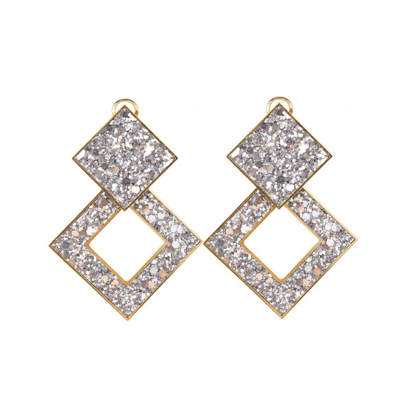 Jane Silver earrings | Shourouk | Fashion Accessories | Earrings