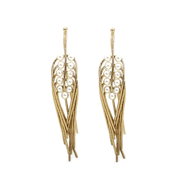 Epi L Nacre Earrings | Cecile Bocarra |Fashion Accessories | Earrings