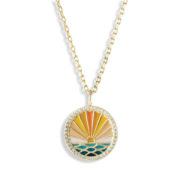 Sunshine Grateful Necklace | Lulu dk |Fashion Accessories |Necklace