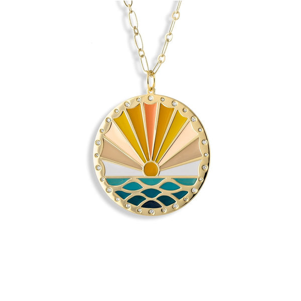 Sunshine Grate For Each Day Necklace | Lulu dk |Fashion Accessories |Necklace