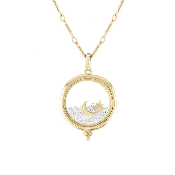 Shoot For The Moon Necklace | Lulu dk |Fashion Accessories |Necklace