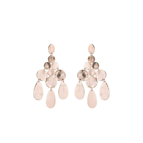 Circle Chandelier Earrings | Marcia Moran |Fashion Accessories |Earrings