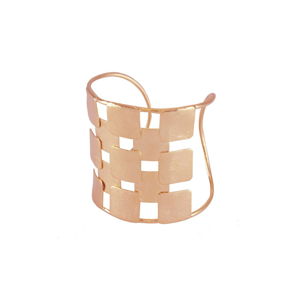 Overlapping Squares Cuff | Marcia Moran |Fashion Accessories |Bracelets