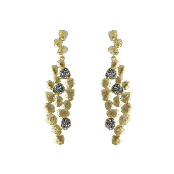 Metal Dots Earrings | Marcia Moran |Fashion Accessories |Earrings