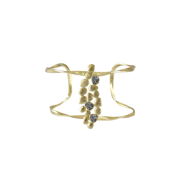 Twisted Frame Open Cuff  | Marcia Moran |Fashion Accessories |Bracelets