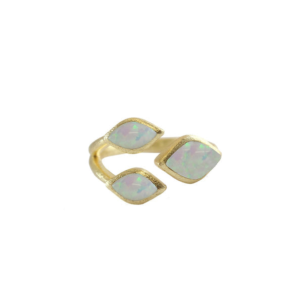 Three Marquise Stones Ring | Marcia Moran |Fashion Accessories |Rings