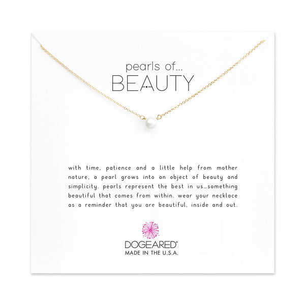 Pearls Of Beauty Gold Necklace | Dogeared | Fashion Accessories | Necklaces