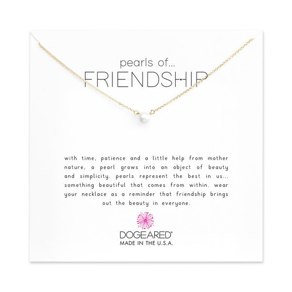 Pearl Of Frienship Gold Necklace | Dogeared | Fashion Accessories | Necklaces