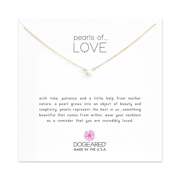 Pearls Of Love Gold Necklace | Dogeared | Fashion Accessories | Necklaces