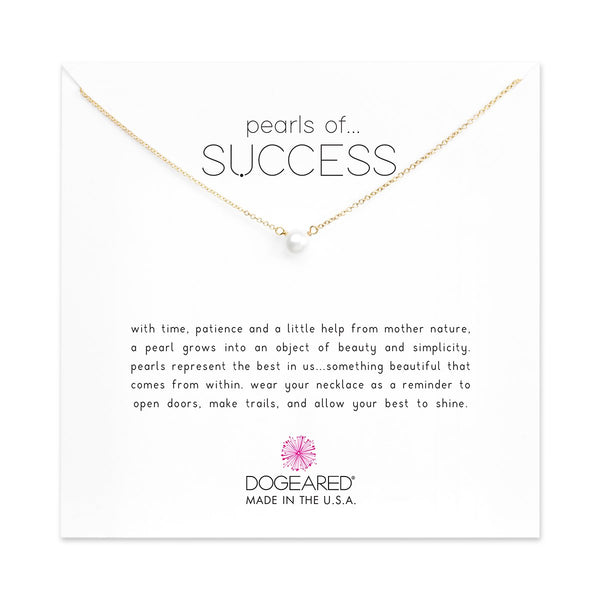 Pearls Of Success Gold Necklace | Dogeared | Fashion Accessories | Necklaces