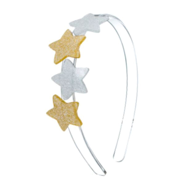 Star Multi Silver Head Band | Lilies and Rose | Kids | Hair Accessories